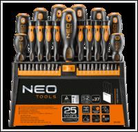 Набор отверток и насадок 37шт. NEO Tools 04-210