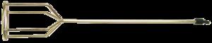 Миксер для гипсовых растворов 100мм TOPEX 22B210