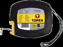 Лента измерительная стальная 20м TOPEX 28C412