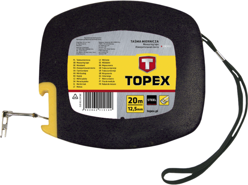 Лента измерительная стальная 30м TOPEX 28C413