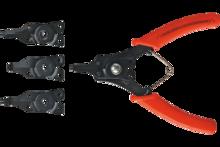 Щипцы для стопорных колец 150мм 4 шт TopTools 32D320