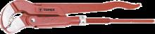"""Ключ трубный S-образный 530мм 2,0"""" TOPEX 34D703"""