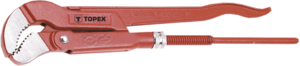 """Ключ трубный S-образный 420мм 1,5"""" TOPEX 34D702"""