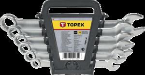 Набор комбинированных ключей 8-17мм 6шт TOPEX 35D755