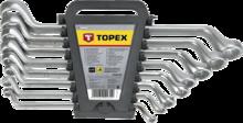 Набор накидных изогнутых ключей 6-22мм 8шт TOPEX 35D856