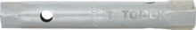 Ключ торцевой двусторонний трубчатый 6x7мм TOPEX 35D930