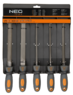 Набор напильников по металлу 200мм 5шт NEO 37-610