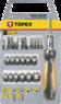 Отвертка с насадками и головками 29шт TOPEX 39D356