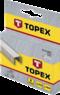 Скобы тип J 10мм 1000шт. TOPEX 41E310