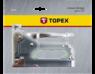 Степлер 6-14мм скобы G TOPEX 41E908