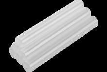 Стержни клеевые прозрачные 8мм 12шт TopTools 42E081