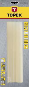 Стержни клеевые прозрачные 11мм 12шт TOPEX 42E113