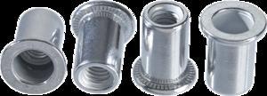 Заклепки алюминиевые с резьбой M4 20 шт TOPEX 43E124