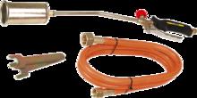 Газовая горелка 28кВт TOPEX 44E120