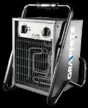 Электронагреватель с вентилятором 3,3кВт GRAPHITE 58G201