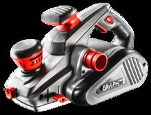 Рубанок электрический 1300Вт GRAPHITE 59G680