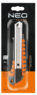Нож с отламывающимся лезвием 18мм NEO 63-011