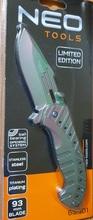 Нож раскладной с титановым покрытием NEO Tools 63-101