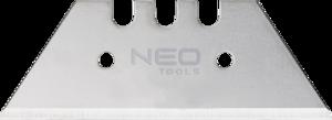 Набор сменных трапециевидных лезвий 5шт NEO 64-420