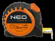 Рулетка 5м с блокировкой сматывания NEO Tools 67-165