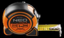 Рулетка 3м с магнитом и блокировкой сматывания NEO Tools 67-173