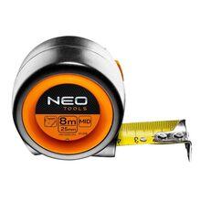 найти рулетку 8м x 25мм с магнитом NEO 67-218