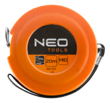Измерительная лента 20м стальная NEO Tools 68-120