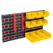купить панель для мастерской с лотками и дополнительными принадлежностями TOPEX 79R171