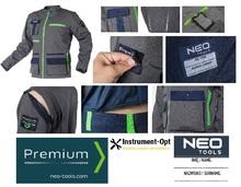 Рабочая куртка ПРЕМИУМ NEO Tools 81-217