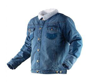 Куртка джинсовая утепленная DENIM NEO Tools 81-557 фото