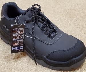 Полуботинки из нубука с композитным носком NEO Tools 82-150 фото