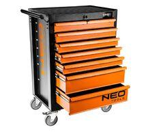 Тележка для инструмента, 7 выдвижных ящиков NEO Tools 84-222