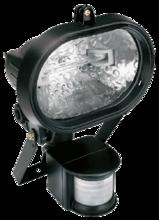 Прожектор, овальный, с датчиком движения 150Вт TOPEX 94W046