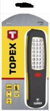 Лампа рабочая 24 LED, батарейки 3xAA TOPEX 94W245