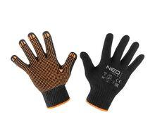 Перчатки рабочие, хлопок и полиэстер, пунктир NEO Tools 97-620