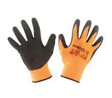 Перчатки рабочие, полиэстер с латексным покрытием, NEO Tools 97-641