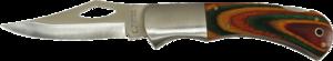 Складной универсальный нож, лезвие 85мм TOPEX 98Z019