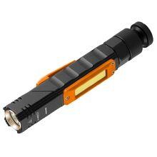 Перезаряжаемый USB-фонарик 300ЛМ 2 в 1 CREE XPE + COB LED NEO 99-034