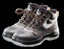 Изображены Ботинки утепленные, кожаные NEO Tools серии 82-140