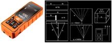На картинке изображен лазерный дальномер NEO Tools 75-201