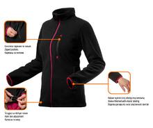 Изображение преимуществ флисовой женской кофты Women Line NEO Tools 80-500