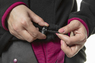Изображение кулисы флисовой женской кофты Women Line NEO Tools 80-500