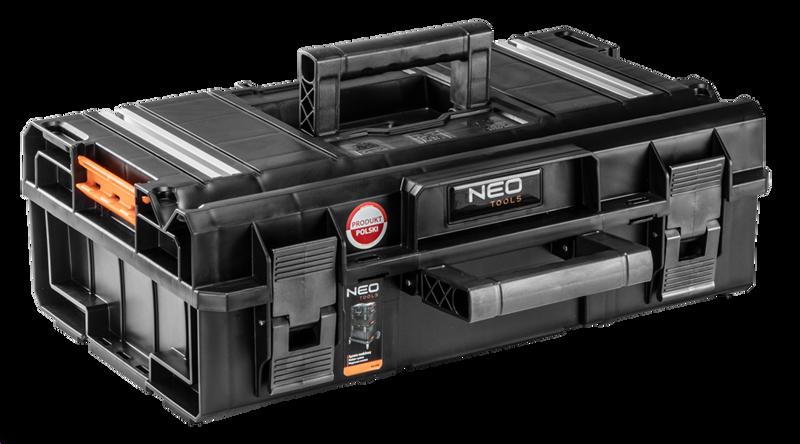 Изображен модульный ящик для инструмента NEO Tools 84-265