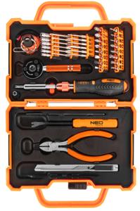 На картинке изображение набора для ремонта смартфонов NEO Tools 06-114