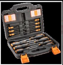 Фото набора отверток с насадками NEO Tools 04-209