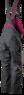 Изображение вид сзади полукомбинезона рабочего женского NEO Tools 80-240