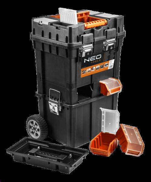 Изображен ящик для инструмента на колесах NEO Tools 84-115
